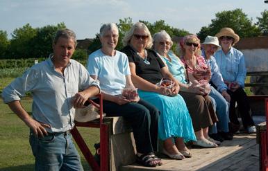 Radley Parish Plan Peachcroft Farm Visit