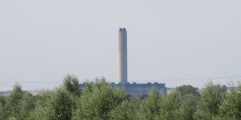 View of Didcot A Power Station on morning of 27th July 2014. Photograph by B Crowley.