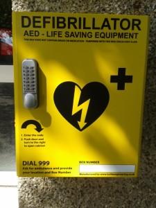 Defibrillator Radley Village Hall