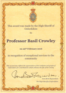 Basil_Certificate_High_Sheriff_Oxfordshire_Web