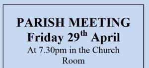 Annual Parish Meeting April 29 2016