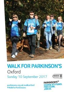 Walk for Parkinson's - Oxford